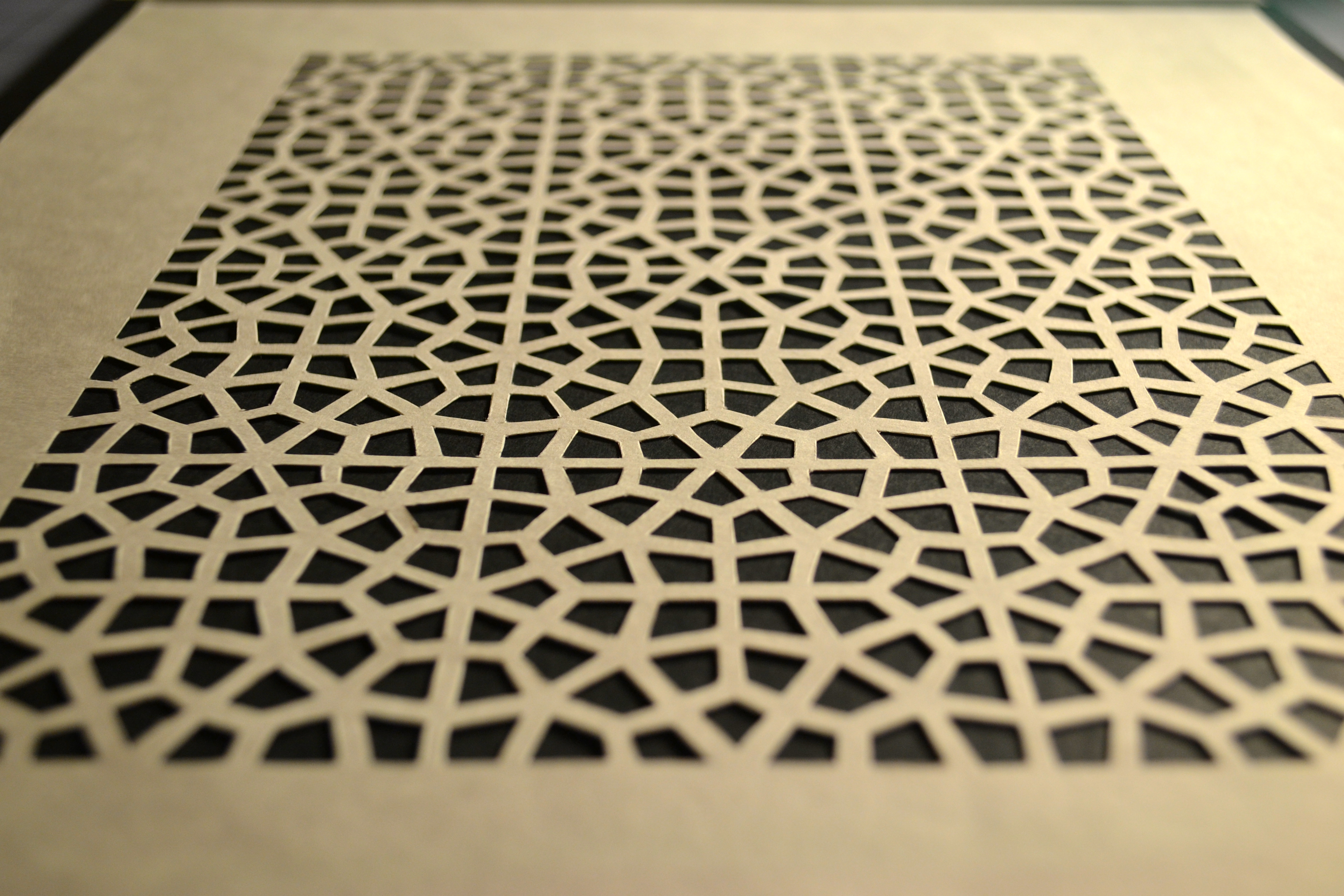 islamic art paper As it is not only a religion but a way of life, islam fostered the development of a  distinctive culture with its own unique artistic language that is reflected in art and .